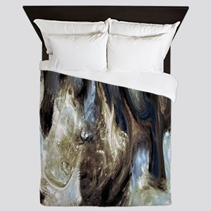 Variation 37 Queen Duvet